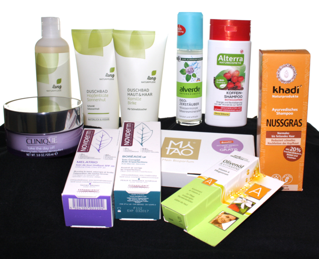 Neu im Hause Heli: Clinique, Noviderm, MyTao, Olivenoel, Khadi, Alterra, Alverde, Lenz Naturpflege