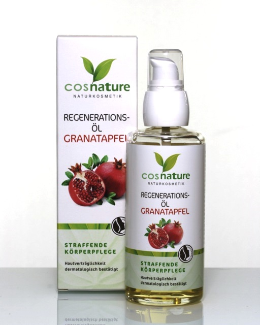 Review Cosnature Granatapfel Regenerations Öl