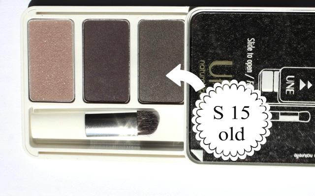 UNE natural Beauty Sfumato Eyes S15 Palette