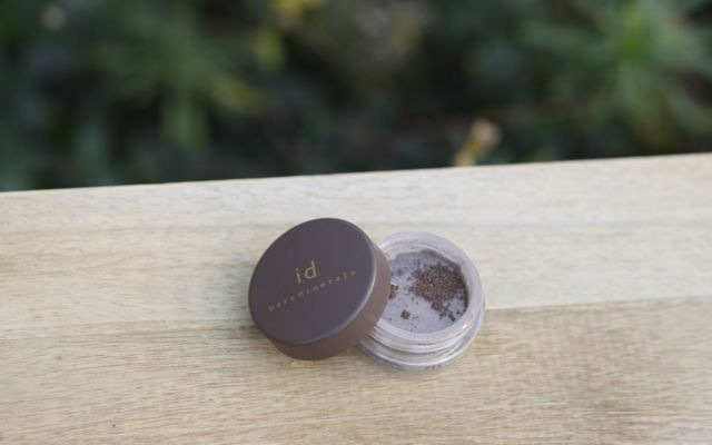 """Review bareMinerals i.d. Liner Shadow """"gold mine"""""""