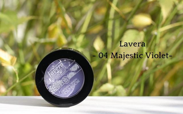 Lavera Mineral Eyeshadow 04 Majestic Violet