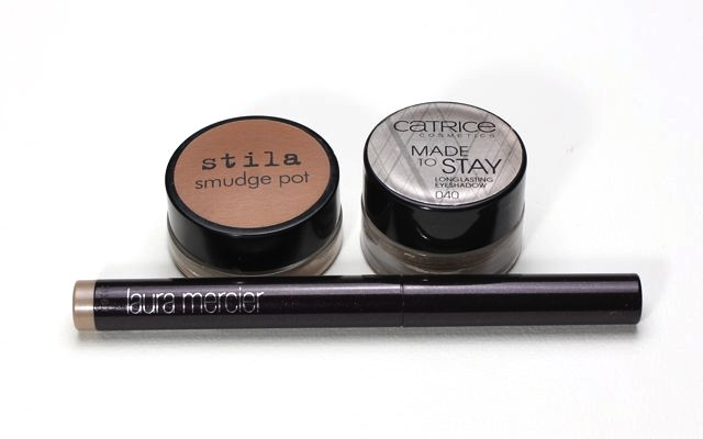 "Stila ""kitten"" versus Catrice ""Lord of the Blings"" versus Laura Mercier ""sugar frost"""