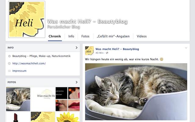 Was macht Heli? auf Facebook