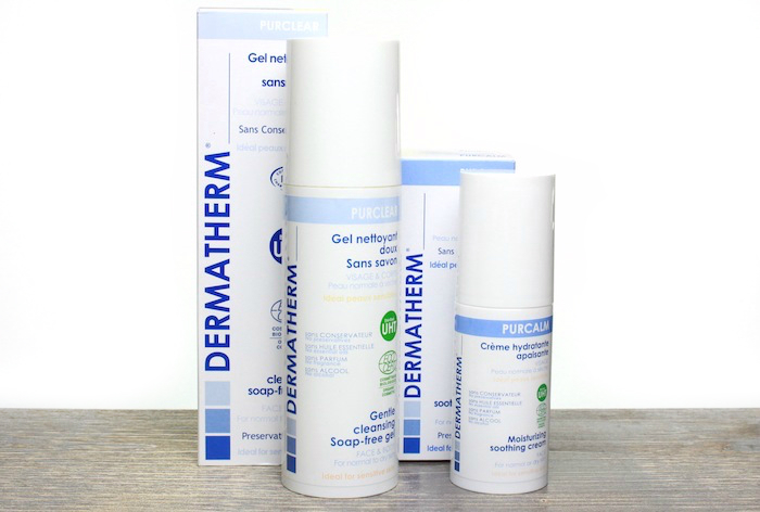 Review: Dermatherm Gentle Cleansing Gel + Moisturizing Soothing Cream
