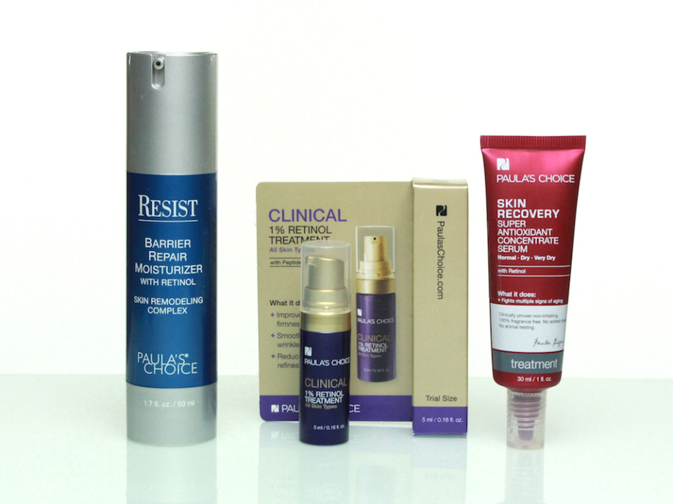 Paula's Choice Produkte mit Retinol