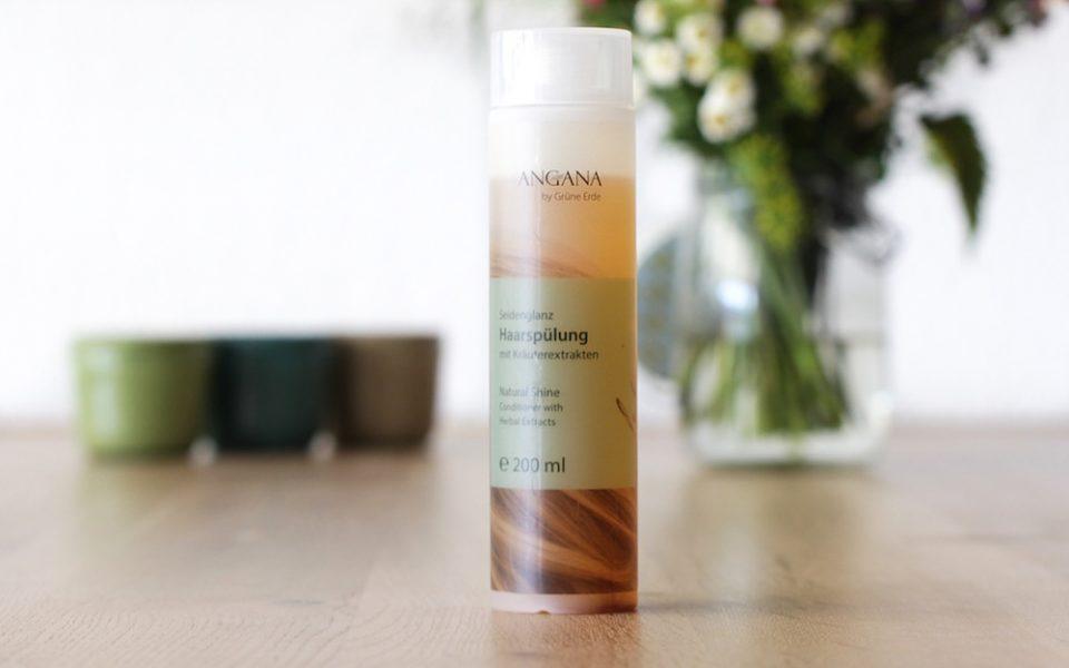 Review Angana Seidenglanz Haarspülung