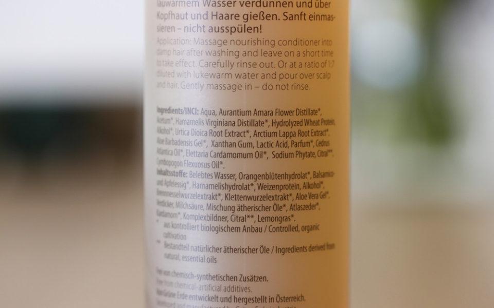 INCI Angana Seidenglanz Spülung/Rinse