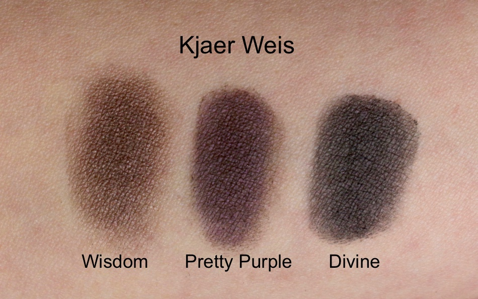 What beautiful shadows by Kjaer Weis: Wisdom + Pretty Purple + Divine