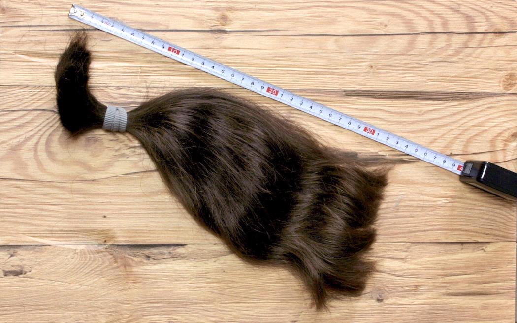 Abgeschnittener Zopf - 33 cm - 13 inch
