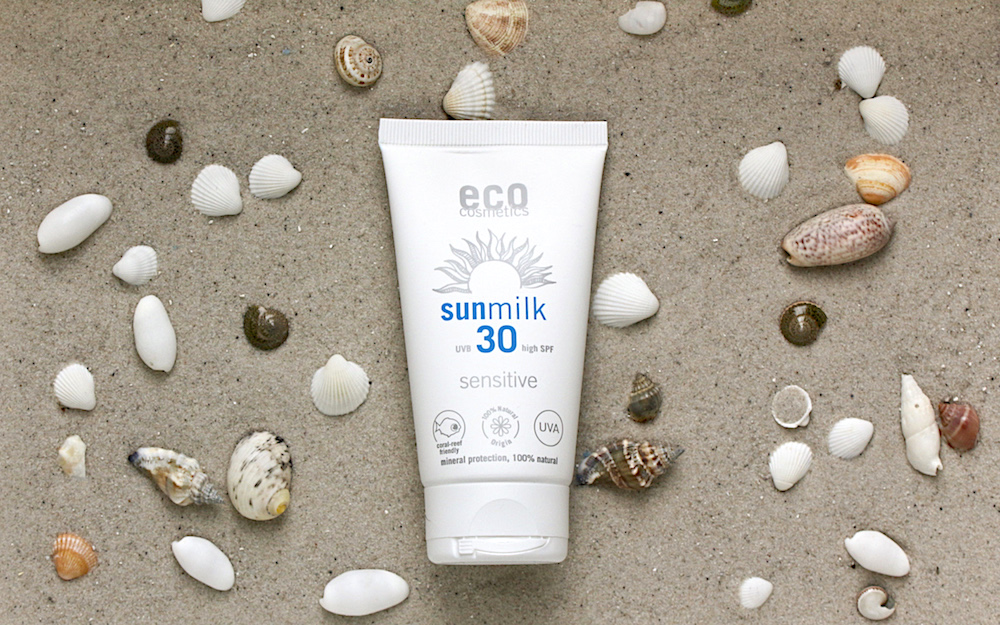 Testbericht: Eco Cosmetics Sunmilk Sensitive SPF 30