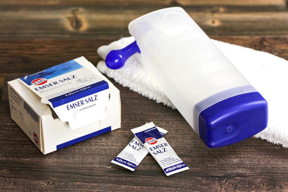 Emser Nasenspuelung gegen Erkaeltung