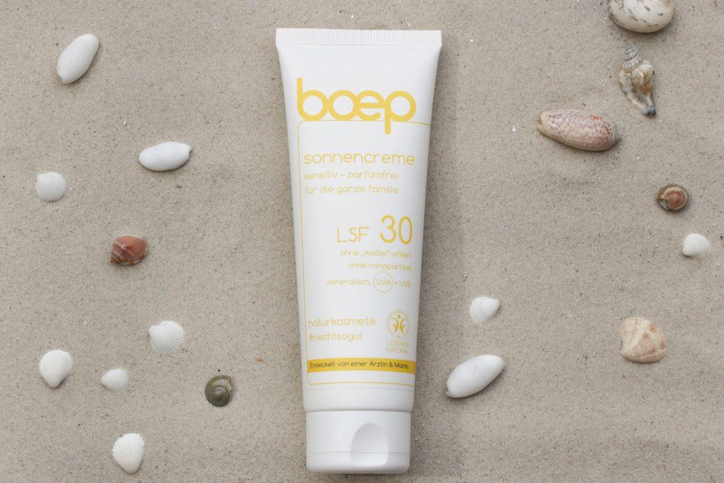 Foto: Boep sensitiv Sonnencreme LSF 30 parfümfrei - Testbericht