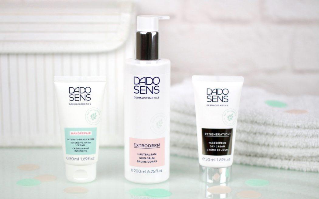 Meine 3 Hautpflege Lieblinge von Dado Sens Dermacosmetics: Handrepair Intensiv-Handcreme, Extroderm Hautbalsam und Regeneration E Tagescreme